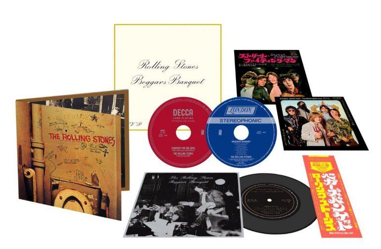 ザ・ローリング・ストーンズ『Beggars Banquet』50周年記念盤、日本独自7インチ・サイズのハイブリットSACDも同時発売決定