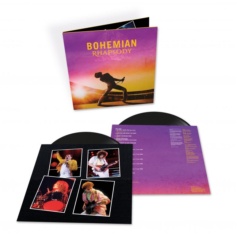 映画『ボヘミアン・ラプソディ』のサントラがLPで発売決定。7インチ・シングル付きの限定盤2枚組ピクチャー・ディスクも登場
