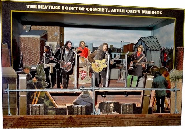 "The Beatles 1969 Photo Print  14 x 11/"""