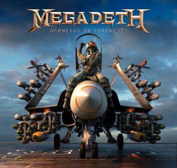 メガデス結成35周年記念35曲入りベスト『Warheads On Foreheads』3枚組CD&4枚組LPで発売決定