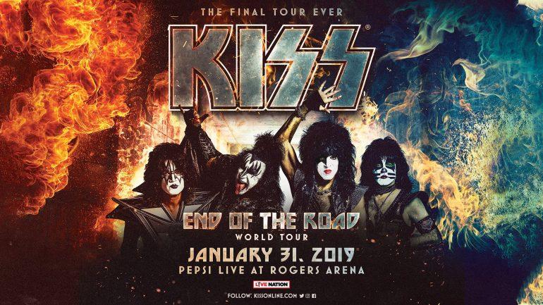 "KISSの引退ツアー""End Of The RoadTour""初日の舞台裏と「Love Gun」演奏映像が公開"