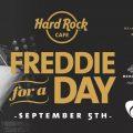 ハードロックカフェが9/5フレディ・マーキュリーの誕生日にあわせて『Freddie For A Week』を開催