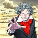 ベートーヴェン生誕250周年キャンペーンのために漫画家・浦沢直樹がイラストを描き下ろし