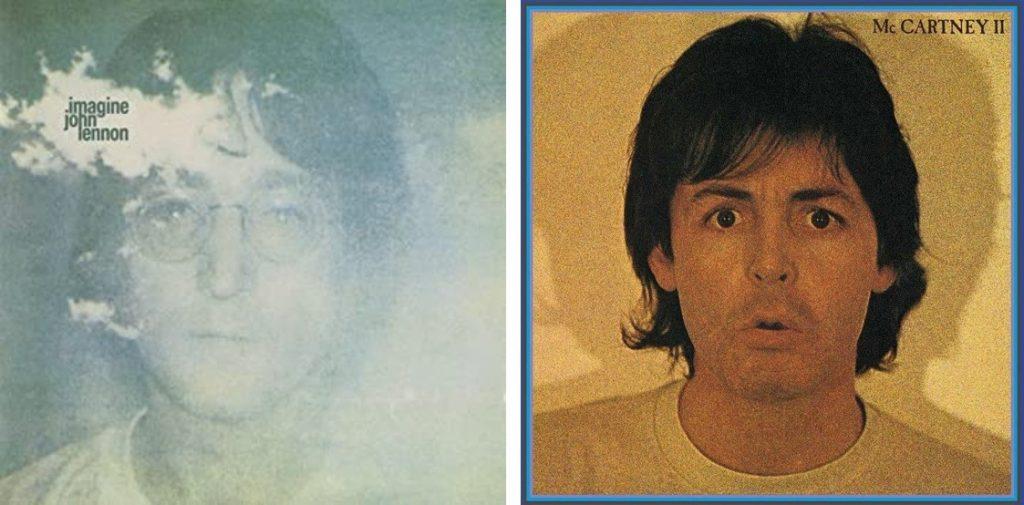ジョン・レノン『Imagine』、ポール・マッカートニー『McCartney 』