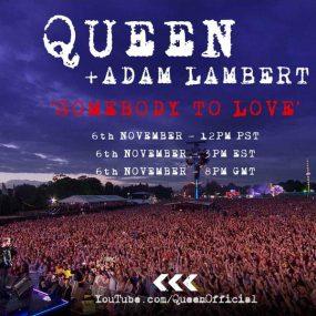 クイーン+アダム・ランバート「愛にすべてを」