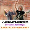 ブライアン・メイ、ケリー・エリスとコラボした新曲「Panic Attack 2021」の2つ目のビデオを公開