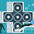 アルツハイマー病の患者にリスナーの背景や好みに応じて音楽を処方し、心拍数が最大で22%減少